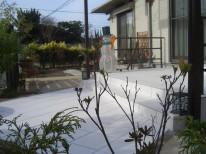 白のタイル