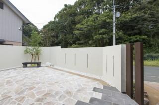 シンプル壁