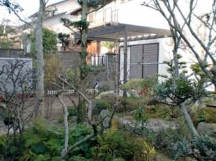 散策のできる和風庭園
