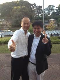 樋渡市長と私