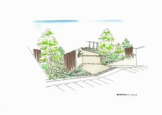 H邸デザイン画