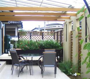 2008 東洋エクステリア 第31回 エクステリア施工コンクール自然浴ガーデン部門