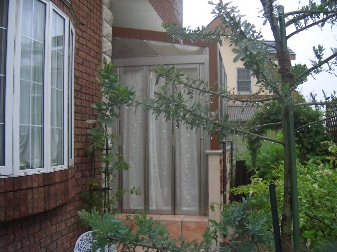 ガーデンルーム腰壁