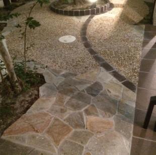 床面デザイン施工