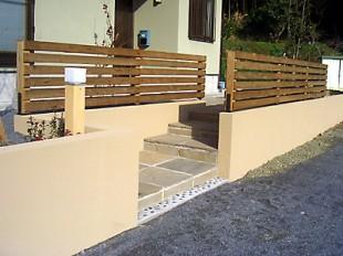 環境にやさしいタンモクウッドの板塀