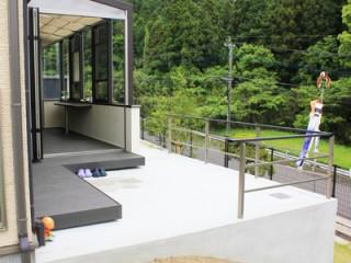 美しい景色と機能性の未来型ガーデンルーム5