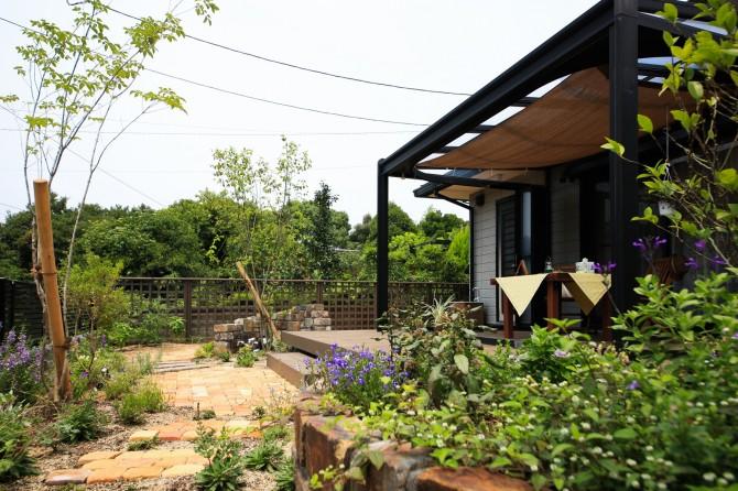 ガーデンリビングのある暮らし