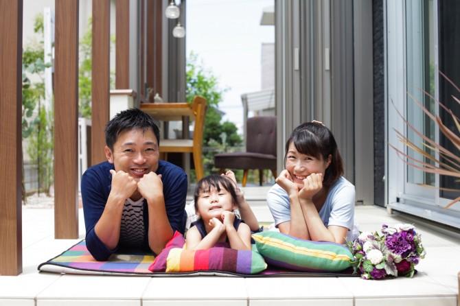 家族が輝く庭づくり