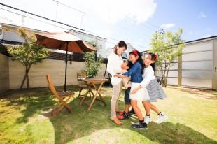 幸せ家族を育む庭づくり