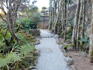 散策のできる和風庭園3