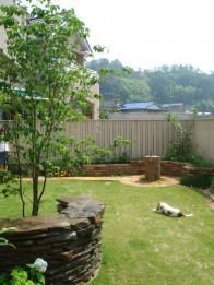 ペットと暮らす庭