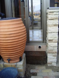 かわいい雨水タンク