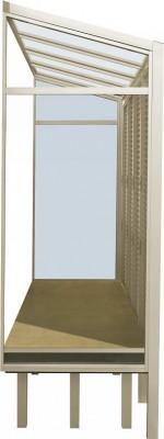 家事楽空間 ラクレージ 側面パネル:FIXガラス