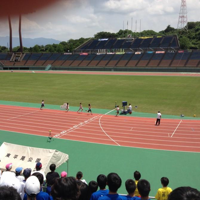 2014年 中体連 陸上競技大会