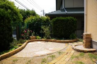 おしゃれな庭園