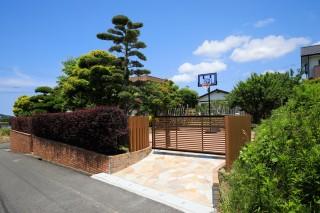 車庫拡張兼お庭