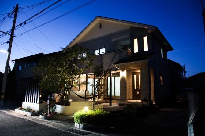 夜の風景 岡垣町